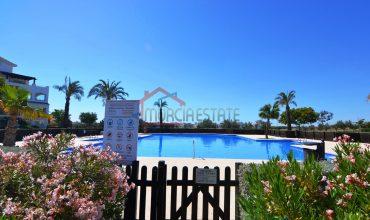 Murcia, Hacienda Riquelme Golf, 2 Dormitorios, Planta Baja, Vista a la Piscina