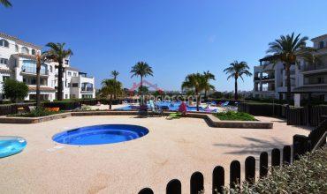 Murcia, Hacienda Riquelme Golf, Atlantico 128, Primero, Gran Terraza en L, Vistas al Golf y Lago