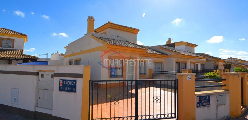 Murcia, Sucina, Corner Semi-Detached, Fully Furnished Villa, 3Beds, 2Baths