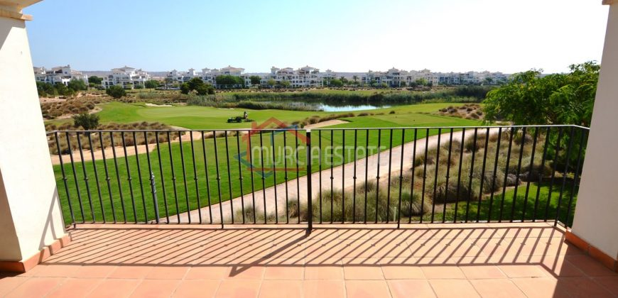 Murcia, Hacienda Riquelme Golf, Atlantico 128, First Floor, L Shape Terrace, Golf-Lake Views
