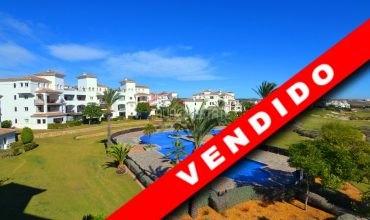 Murcia, Hacienda Riquelme Golf, Atlantico 78, Second Floor, Glazed Terrace, Golf-Pool Views