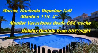Murcia, Hacienda Riquelme Golf, Atlantico 118, L Shape Second Floor
