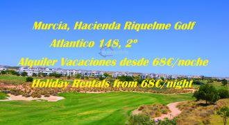 Murcia, Hacienda Riquelme Golf, Atlantico 148, 2º, Holiday Rentals